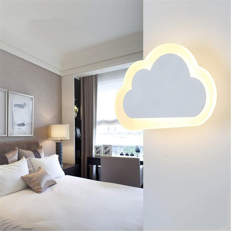Wandleuchte Innen Moderne Einfache Led Warme Kunst 10W Kreative Wolke Design Schmiedeeisen Acryl Wandlampe Für Wohnzimmer Schlafzimmer Restaurant Flur Wandbeleuchtung