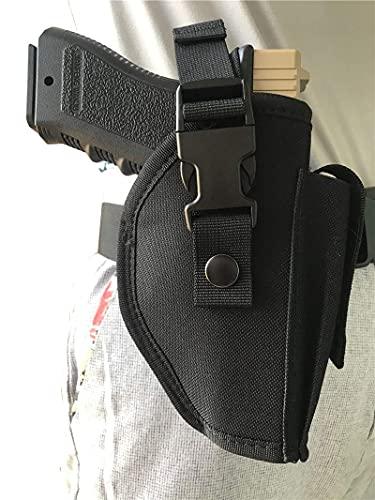 DealMux conveniente funda de pistola táctica con funda de revista con soporte para dinero oculto que se adapta a la mayoría de las herramientas de funda de mano derecha de tamaño