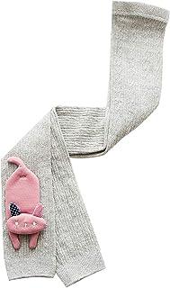 Girl Cartoon Cotton Tights Kids Baby Animal Elastic Waist Knitted Pantyhose Infant Stockings Autumn Leg Warmer