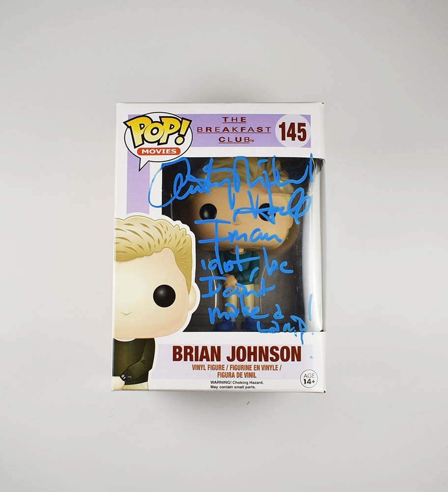 Anthony outlet Michael Hall Breakfast Club Selling and selling Signed Funko Pop 145 Certifi