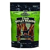 Redbarn 7-Inch Braided Bully Sticks (1-Pack Of 3) 2 Oz