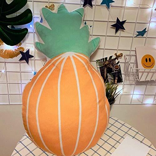 Creative Animal Rabbit Piggy Dog Pluche Kussen Simulatie Melkfles Pompoen Camera Gevulde Pop Kinderstoel Kussen 43 Cm C