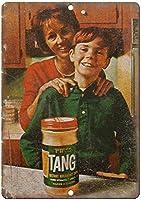 Tang Orange Instant Breakfast Drink ティンサイン ポスター ン サイン プレート ブリキ看板 ホーム バーために