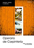 Operario de carpintería