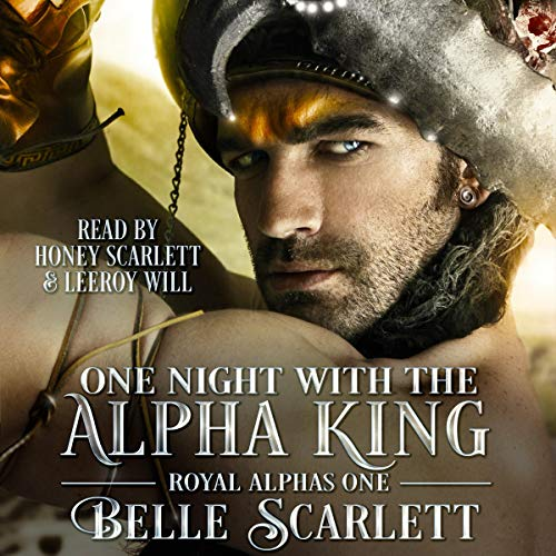 One Night with the Alpha King audiobook cover art