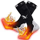 Heated Socks Rechargeable Powered Batteries 7.4V 2200MAH Cold Winter Snow Electric Foot Warmer