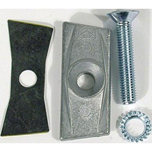 HEBIE Gegenhalteplatte Für Zweibeinständer mit Schraube M10 x 55 mm