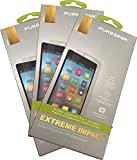 Bundle - 3 Items: PureGear PureTek Roll-On Screen Protector Kit with Easy Install Tray for GreatCall Jitterbug Smart2 Phone (5049SJBS2, Smart-2)