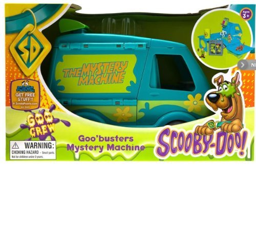 Scooby-Doo Mystery Machine with goo! Scooby Goo - Scooby Doo van