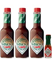 Chipotle Tabasco - Pack de 3 y mini tabasco (57 ml)