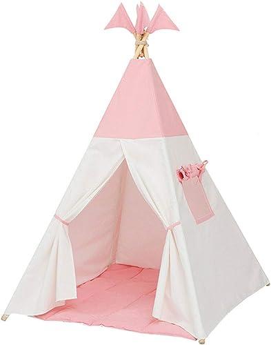 Spielzelte Rosa Prinzessin Zimmer Lese Ecke Geschenk Junge mädchen Kinderzimmer Tragbare Größe Raum Spielhaus Spielzeug Faltbare Zelt 110cm   (Farbe   Rosa, Größe   110  110  160cm)