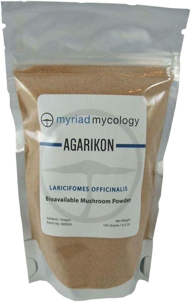 OFFicial shop Myriad Mycology Agarikon Mushroom Powder 5.2 It is very popular - in Ounces US Made