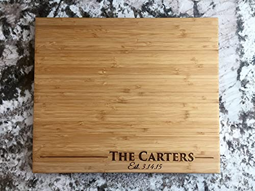 Personalized Cutting Board for Mom