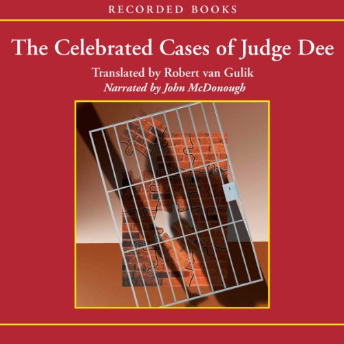 The Celebrated Cases of Judge Dee audiobook cover art