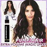 Pump Hair Spray Mágico de Volumen Extra, Spray Espesante del Cabello, Spray de Peinado para Mujeres y Hombres, Spray Voluminizador de Textura para Todo Tipo de Cabello