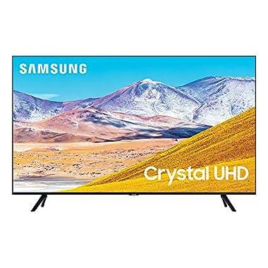 Samsung 75 TU8000 Crystal UHD 4K UHD Smart TV with Alexa Built-in UN75TU8000FXZA 2020