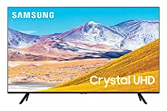 Crystal processor 4K: This ultra-fast processor transforms everything you watch into stunning 4K. Multi voice: Smart TV with Alexa and Bixby. Smart TV powered by Tizen: Go beyond Smart TV with next-gen apps, super easy control, and a host of enhancem...