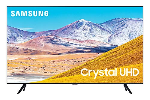 SAMSUNG 55-Inch Class Crystal UHD TU-8000 Series - 4K UHD HDR Smart TV with Alexa Built-in (UN55TU8000FXZA, 2020 Model)