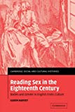 Reading Sex in the 18th Century: Bodies and Gender in English Erotic Culture