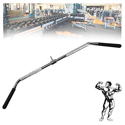 ZLLF Barra Triceps Ajuste De Cable De Tríceps Sólido De Alta Resistencia, Barra Extraíble Lat Tríceps Barra De Ejercicios De Barra, Barra De Entrenamiento De Fuerza Integral (Size : 114cm)