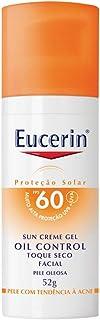 Eucerin, Sun Creme-Gel Oil Control, Toque Seco, Pele Oleaso, 52g