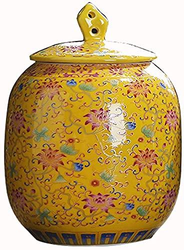 SLZFLSSHPK urnen spindeln Taschen töpfe übertöpfe zubehör särgeUrnen für Asche Einäscherung Begräbnis Urnen Asche Klassische und schöne Keramikglas kann Asche von Erwachsenen oder Ihren Haust
