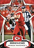 2019 Rookies and Stars Football #31 Patrick Mahomes II Kansas City Chiefs Official Panini NFL Trading Card