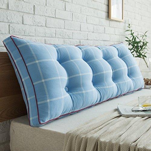 Hongyan Doppelbett Pillow/Pillowtop-Matratze, Nachttisch/Sofas / Büro/verfügbar für die Taille/Lesematte Kissen (Farbe : B, größe : 180 * 50 * 20cm)