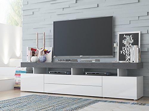 TV-Lowboard Fernsehtisch Unterschrank Sideboard Schrank Hifi Rack