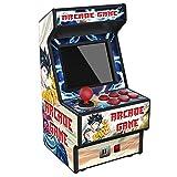 """Golden Security Mini máquina de Juegos Arcade de 2.8 """"RHAC06 156 Juegos portátiles clásicos El Mejor Juguete electrónico para niños y Adultos con Pantalla Colorida y batería Recargable"""