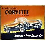 Introducing the Corvetteメタルサイン