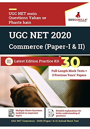 UGC NET Commerce: 2020 | 30 Full-length Mock Test (Paper I & II)