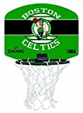 Spalding NBA Boston Celtics Panier + Ballon Mixte Enfant, Multicolore, Taille Unique
