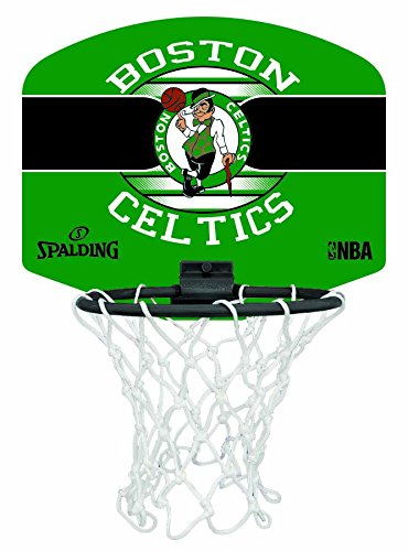 Spalding Uni NBA Mini Board Boston Celtics (77 – 651z) minibas ketball Cesto, Multicolore, NOSIZE