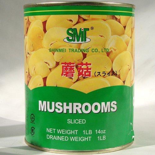 磨姑 切片 缶詰【マッシュルームスライス】【業務用】