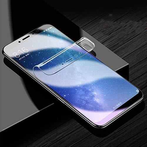 ONICO Bildschirm Schutzfolie für Xiaomi Mi Max 3,TPU Selbstheilend Anti-Bläschen 3D-Gebogenen Volle Bedeckung Folie kompatibel mit Xiaomi Mi Max 3 [2 Stück]
