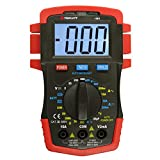 Triplett Compact CAT III 1999 Count Digital Multimeter - AC/DC Voltage, AC/DC Current, Resistance, Temperature, Continuity, and Diode Check (1301)