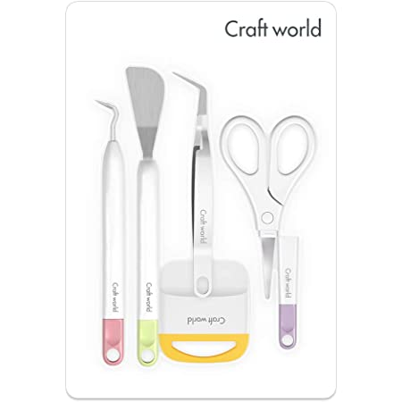 Craft Tools Kit Basic Set for Cricut//Silhouette//Siser//Oracal Craft Weeding Tool Set