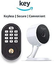 Yale Assure YRD216 Lock Push Button Deadbolt + Amazon Cloud Cam   Key Smart Lock Kit (Oil-Rubbed Bronze)
