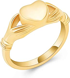 cremation rings gold