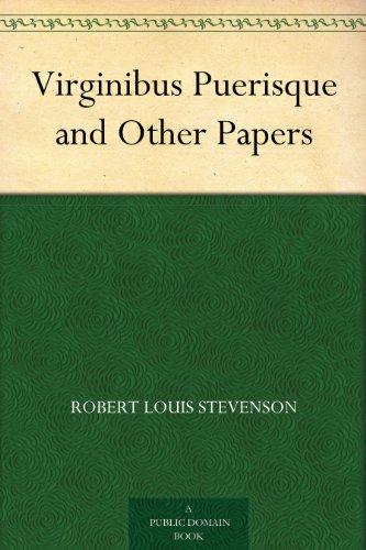 Couverture du livre Virginibus Puerisque and Other Papers (English Edition)