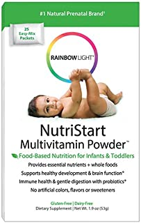 Rainbow Light - NutriStart Multivitamin Powder, Nutritious Support for Growing Infants and Toddlers with Choline and Vitam...