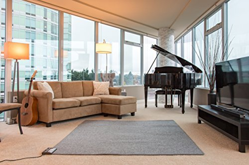Hot Carpet Woo - Alfombra eléctrica para Calentar el Piso