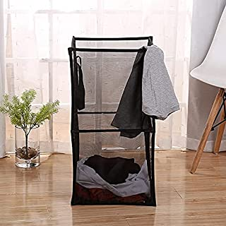 Mesh Laundry Hamper Collapsible Folding Dirty Clothes Laundry Baskets with Easy Carry Handles for Home Organization Kids R...