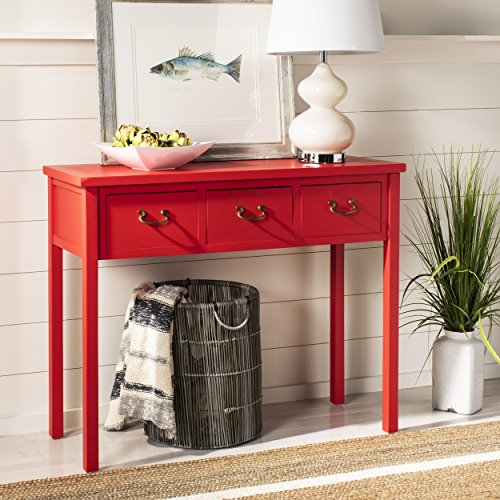 Safavieh American Homes Collection Cindy Hot Red Console Table