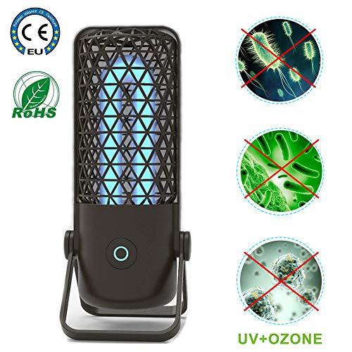 Mydee UV Licht Keimtötende Licht UV-Desinfektionslampe UV Lampe Entkeimungslampe, Tötet bis zu 99,9% der Keime und Viren von Schimmelpilzbakterien ab, für Kleiderschrank,Hotel, Babyartikel