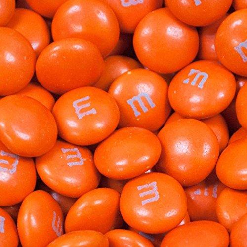 2 lbs M&M's Milk Chocolate Candies (Orange)