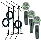 Samson Q6 Live Stage Microphone Starter Package