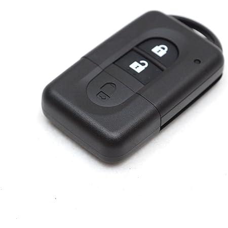 Sharplace 2 Taste Fernschlüsselfob Shell Schlüssel Gehäuse Für Nissan Micra Qashqai Juke Auto