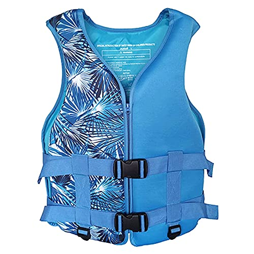 Schwimmwesten für Erwachsene Wassersport Bootsweste Outdoor-Sportweste Schwimmweste für Erwachsene Leichte Weste / XS-XL / Geeignet für 20-100 kg (Blue, M)